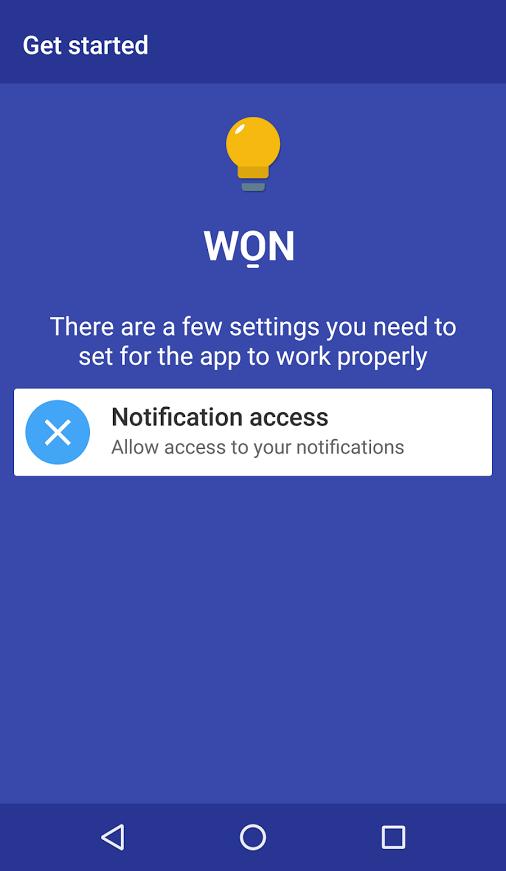 WON – Wake On Notification [APP]